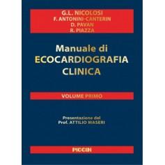 Manuale di Ecocardiografia Clinica + DVD di Nicolosi