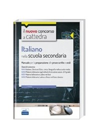 CC4/19 Concorso a Cattedre Italiano Scuola Secondaria Classi A043, A050, A051, A052 di De Robertis
