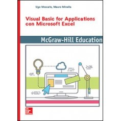 Visual Basic for Applications con Microsoft Excel di Moscato, Minella