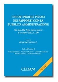I Nuovi Profili Penali Nei Rapporti Con Pubblica Amministrazione di Macrillo'