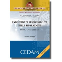 L'Addebito Di Responsabilita' Nella Separazione - Profili Civili E Penali di De Filippis, Buonadonna, Merolla, Lupo, Iosca