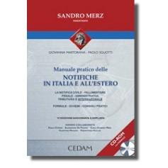 Manuale Pratico Delle Notifiche In Italia E All'Estero di Merz