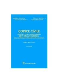 Codice Civile Annotato con la Giurisprudenza  Giuffrè Editore di Pescatore, Ruperto