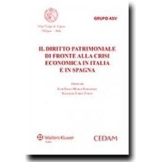Il Diritto Patrimoniale di Fronte alla Crisi Economica in Italia e in Spagna di Murga Fernandez Juan, Tomàs