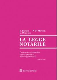 La Legge Notarile di De Martinis, Di Zenzo, Protettì