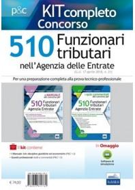 Concorso 510 Funzionari Agenzia delle Entrate Prova Oggettiva Tecnico-Professionale Kit