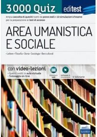 Editest Area Umanistica e Sociale 3000 Quiz e Verifiche Q11