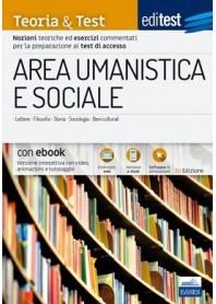 Editest Area Umanistica e Sociale Teoria ed Esercizi TT11