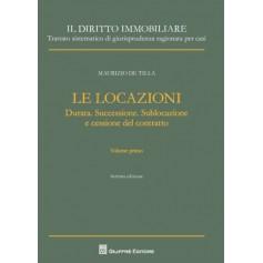 Le Locazioni Vol.I di De Tilla