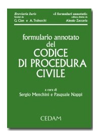 Formulario Annotato Del Codice Di Procedura Civile + CD-ROM di Nappi, Menchini
