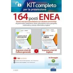 164 Posti ENEA Kit Concorso Preselezione di AA.VV.