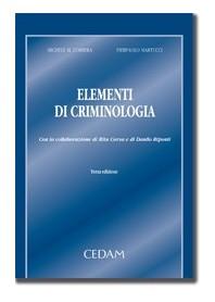 Elementi Di Criminologia di Correra, Martucci
