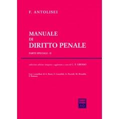 Manuale di Diritto Penale Parte Speciale II di Antolisei