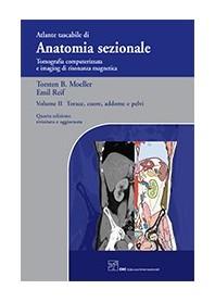 Atlante Tascabile Di Anatomia Sezionale Torace, Cuore, Addome E Pelvi Vol.2 di Moeller, Reif