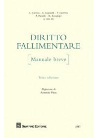Manuale Diritto Fallimentare di Calvosa, Giannelli, Guerrera, Paciello, Rosapepe