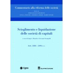 Scioglimento e Liquidazione delle Societa' di Capitali di Bianchi, Marchetti