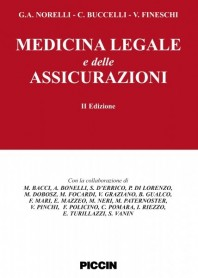 Medicina Legale E Delle Assicurazioni di G.A. Norelli, C. Buccelli,  V. Fineschi