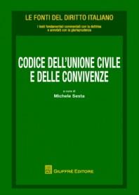 Codice Codice dell'Unione Civile e delle Convivenze di Sesta