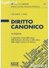 Diritto Canonico di F. del Giudice, S. Gallo