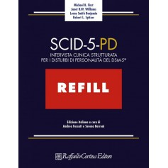 SCID-5-PD Refill di First, Williams, Benjamin, Spitzer