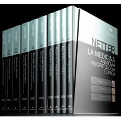 Netter La Medicina: Anatomia, Fisiopatologia Clinica 10 volumi di Netter