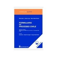 Formulario di Procedura Civile di  Berri, De  Angelis, Luogo, Stella Richter