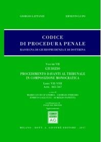 Codice Procedura Penale Rassegna di Giurisprudenza e di Dottrina Vol VII di Lattanzi, Lupo