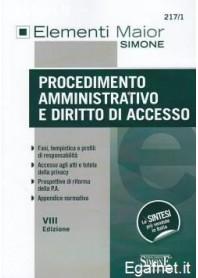 Procedimento Amministrativo E Diritto Di Accesso di AA.VV.