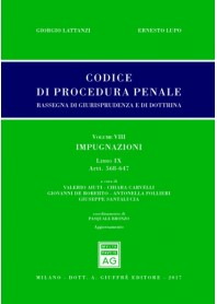 Codice Procedura Penale Rassegna di Giurisprudenza e di Dottrina Vol VIII Libro IX di Lattanzi, Lupo