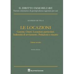 Le Locazioni Vol.II di De Tilla