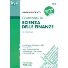 Compendio Di Scienza Delle Finanze di Annamaria Morlacchi, a cura di