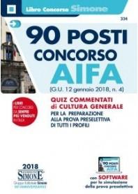 90 posti Concorso AIFA di AA.VV.