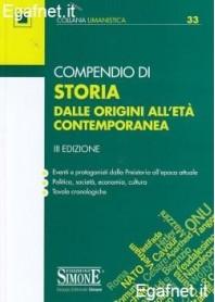 Compendio Di Storia di AA.VV.
