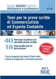 Temi Per Le Prove Scritte Di Commercialista Ed Esperto Contabile di AA.VV.