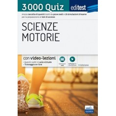 Editest Scienze Motorie 3000 Quiz e Verifiche Q12