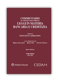 Commento Testo Unico delle Leggi in Materia Bancaria e Creditizia di Capriglione