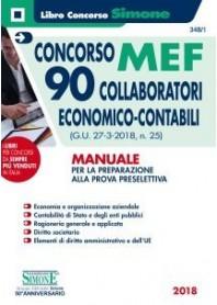 Concorso MEF 90 Collaboratori Economico Contabili Manuale