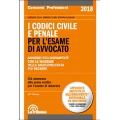 I CODICI CIVILE E PENALE PER L'ESAME DI AVVOCATO di Colli, Ferri, Gennari