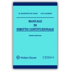 Manuale di Diritto Costituzionale di Mazziotti Di Celso, Salerno