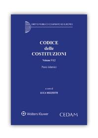 Codice delle Costituzioni Volume VI.2 Paesi Islamici di Mezzetti