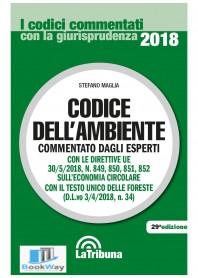 codice dell'ambiente 2018