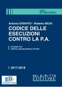 codice delle esecuzioni contro la p.a. - seconda edizione