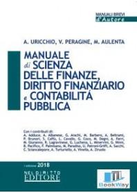 manuale di scienza delle finanze, diritto finanziario e contabilita' pubblica