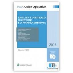 excel per il controllo di gestione e la finanza aziendale 2018