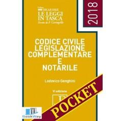 codice civile legislazione complementare e notarile 2018 pocket