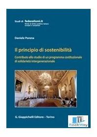 il principio di sostenibilita'