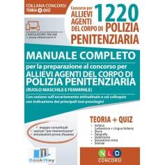 concorso per 1220 allievi agenti del corpo di polizia penitenziaria