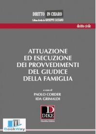 attuazione ed esecuzione dei provvedimenti del giudice della famiglia