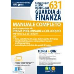 concorso per 631 allievi marescialli guardia di finanza