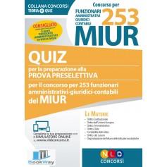 concorso per 253 funzionari amministrativi giuridici contabili miur